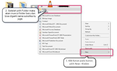 2 Cara Membuat Folder Baru di Windows 2 langkah terbaik membuat folder baru di Windows 7 8 10