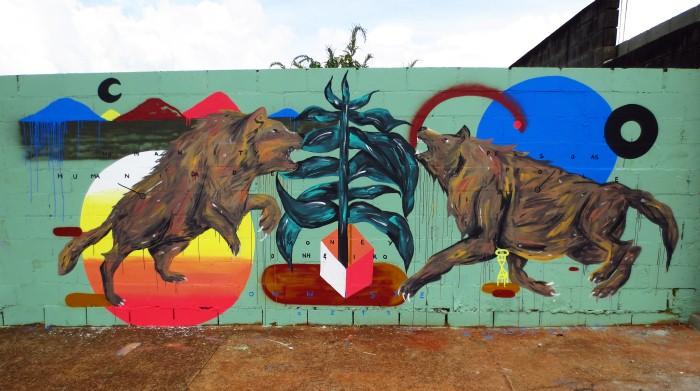 Уличный художник. Zeh Palito 17
