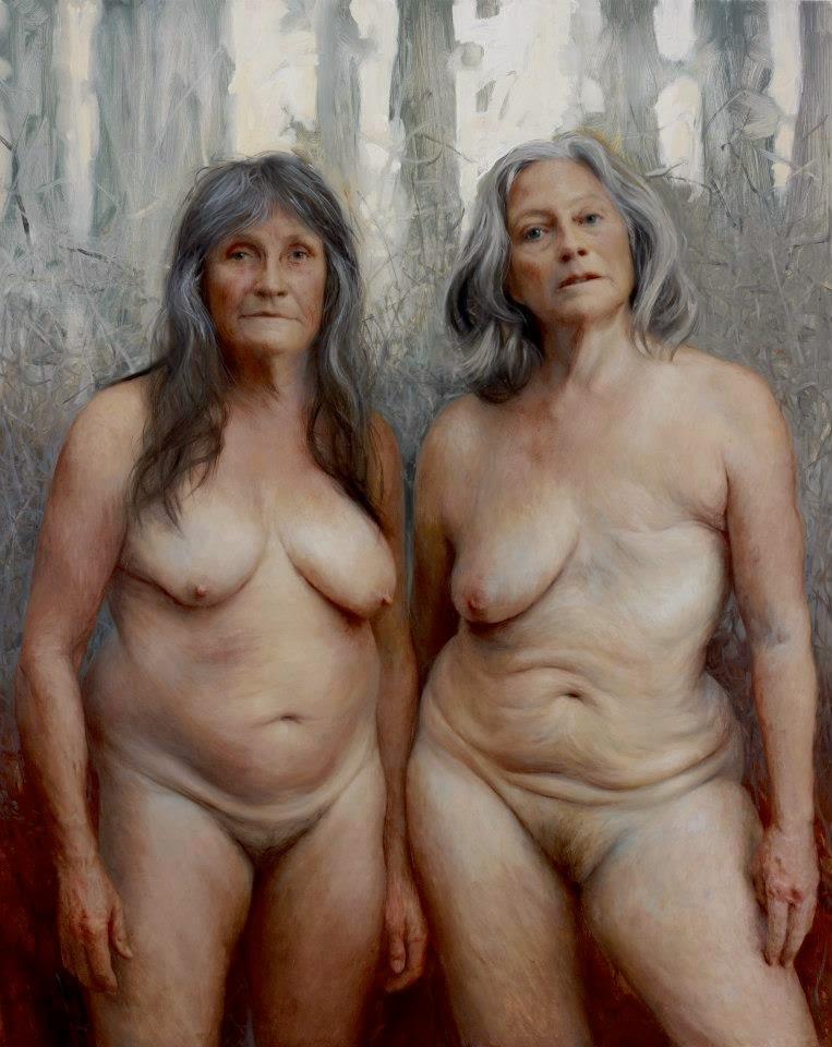 Oily girls wrestling naked