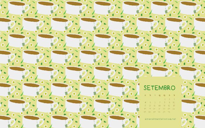 Papéis de Parede de Setembro | Amavelmente Irônica