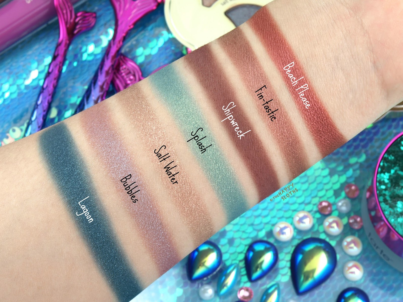 Tarte | Be A Mermaid & Make Waves Eyeshadow Palette: Review and ...