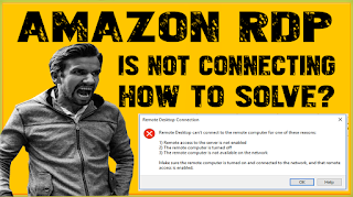 How To Solve AWS Remote Desktop Can't Connect To The Remote Computer For One Of These Reasons Error