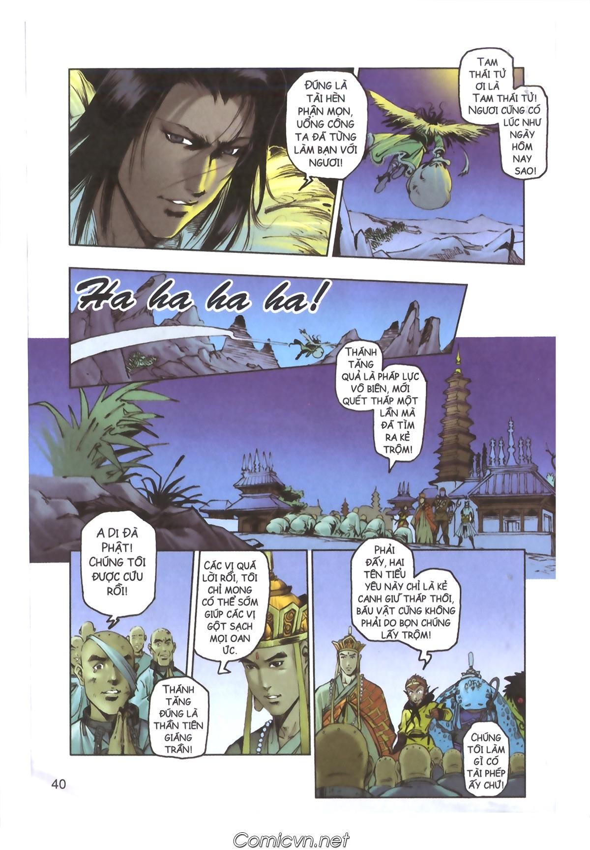 Tây Du Ký màu - Chapter 110 - Pic 36