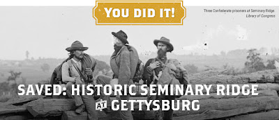 Saved! 18 Acres at Seminary Ridge