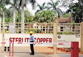 copper smelting plant's expansion