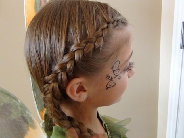 Peinados Con Trenzas Para Ninas Peinados Con Trenzas