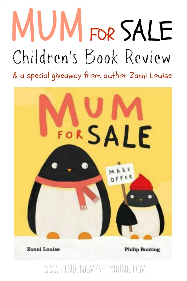 Book review and giveaway of Mum for Sale the new childrens picture book from author Zanni Louise featuring popular character Errol.