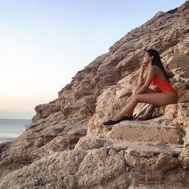 HOT: Amyra Dastur is a Sultry Siren in This Orange Swimsuit