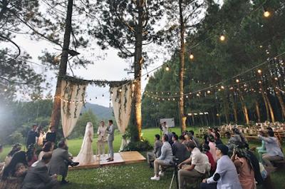 8 Tips Dekorasi Pesta Pernikahan Di Ruang Terbuka
