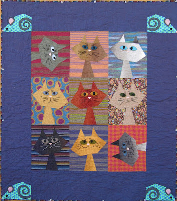 Quilt Inspiration Free pattern day Cat and Dog quilts Beauteous Dog Quilt Patterns
