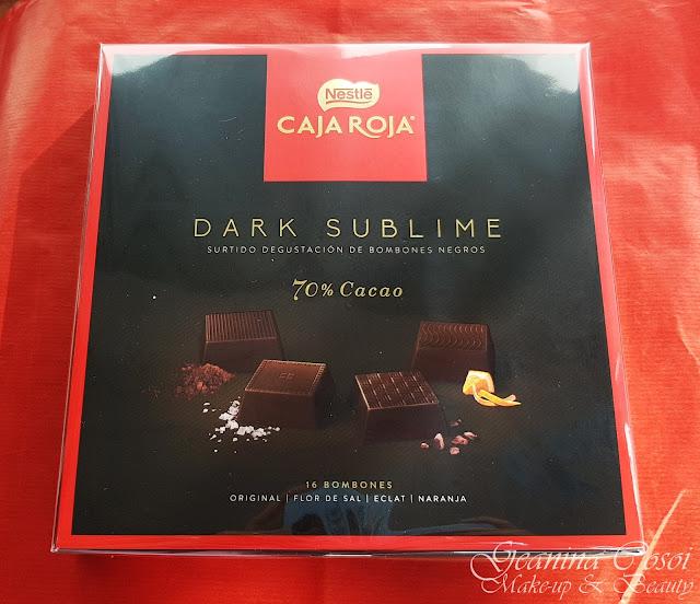 Nestlé caja roja Dark Sublime Degustabox Noviembre - Especial Navidad