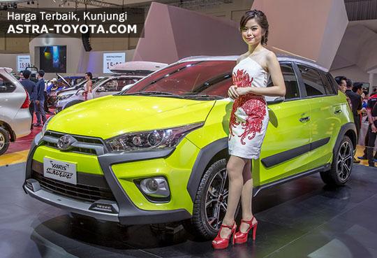 Harga Toyota Yaris Heykers di Jakarta Tangerang Bekasi Depok Serang Bogor
