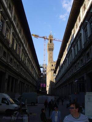 Voyage à Florence, Galerie des Offices, Florence, Laocoon et ses fils, Méduse, grotesques, Botticelli, le Caravage, Sculptures,