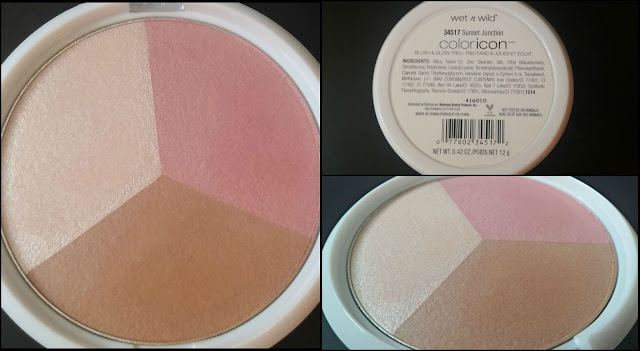 Wet 'n' Wild Color Icon Blush & Glow Trio in Sunset Junction