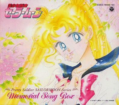 Coffret de 7 CDs regroupant toutes les chansons de Sailor Moon