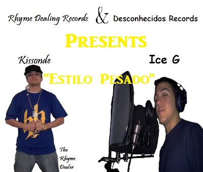 Rap Portugues - Kissonde Feat. Ice G - Estilo Pesado