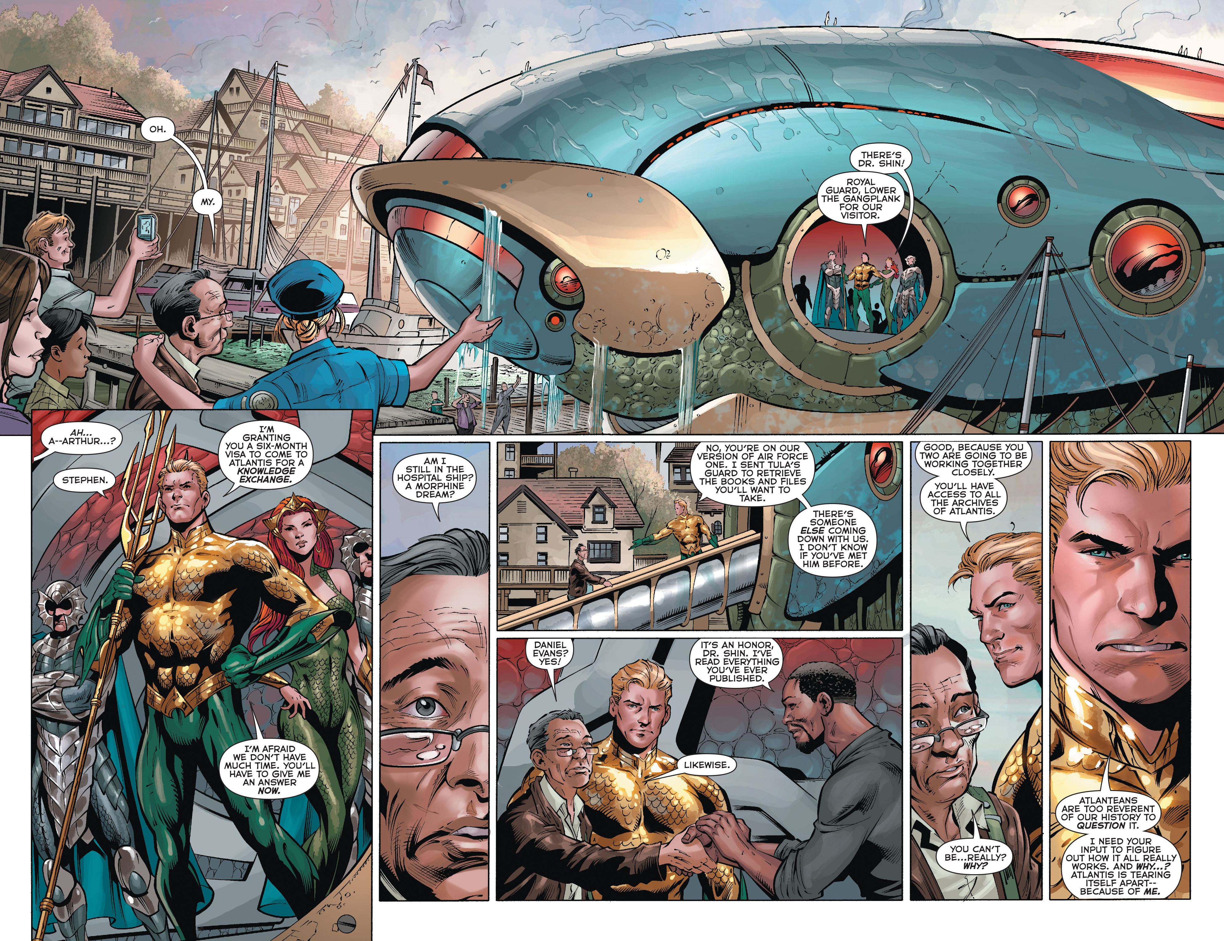 Read online Aquaman (2011) comic -  Issue #35 - 5