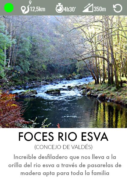 ruta foces hoces del rio esva asturias