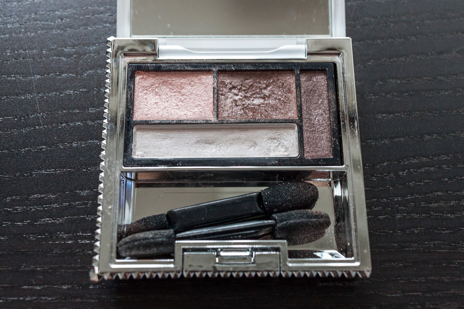 Esprique Precious eye palette, Japanese cosmetics, Project Make a Dent half way update