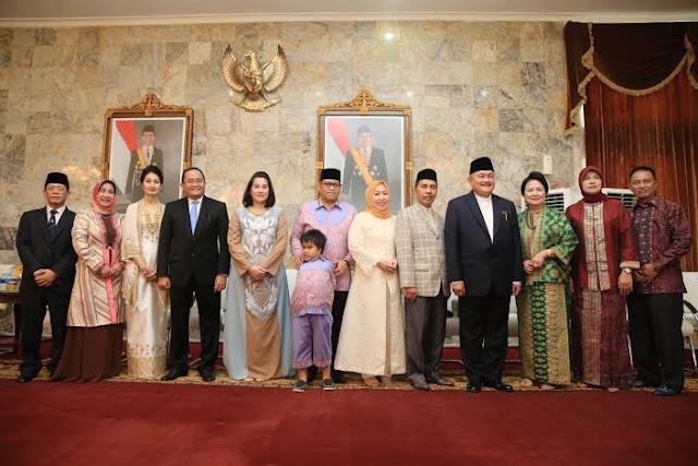 Open House, Gubernur Sumsel Rayakan Lebaran Bersama Masyarakat