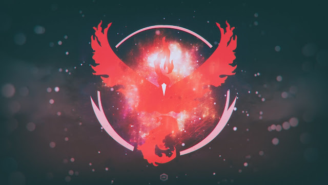 Pokemon Go Team_valor_team_red HD Wallpapers