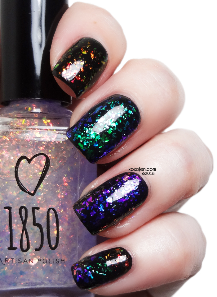 xoxoJen's swatch of 1850 flakies
