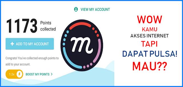 Mcent Browser: Hanya Akses Internet Dapat Pulsa Gratis