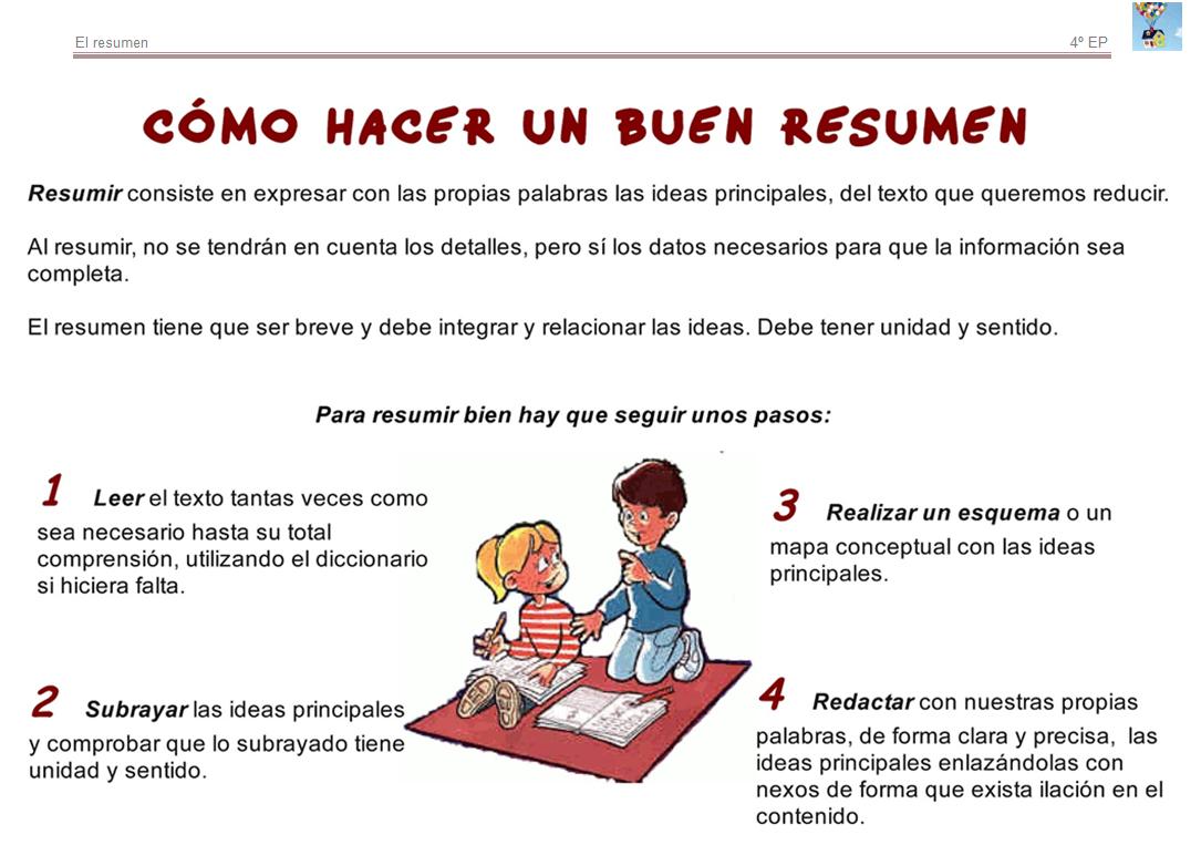 Bienvenidos a cuarto de primaria! : El resumen
