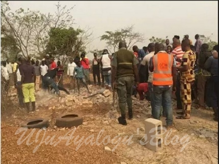 Lagos Man Kills Estranged Wife, Buries Her Corpse in a Shallow Grave
