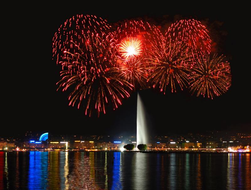 Amazing Fireworks-new year photo