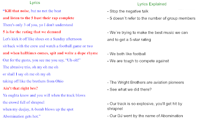 Mission 5 Lyrics Explained