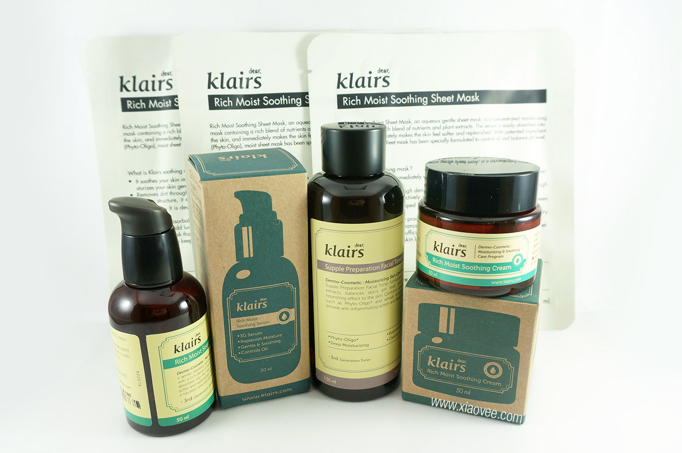 Wishtrend, Klairs Moisture Rescue Set Review, Korean Klairs Skincare Brand, No animal testing skincare, cruelty free skincare, paraben free skincare