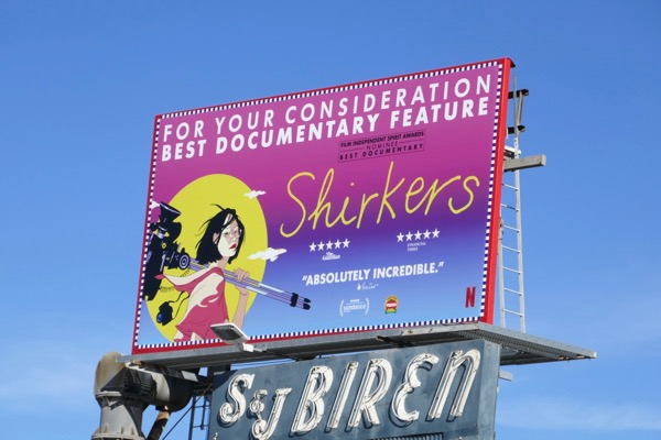 Shirkers FYC billboard