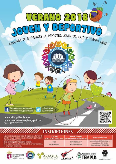 http://centrojovenvq.blogspot.com.es/2018/05/programa-verano-2018.html