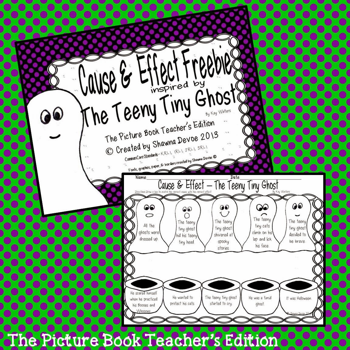 The Picture Book Teacher S Edition The Teeny Tiny Ghost