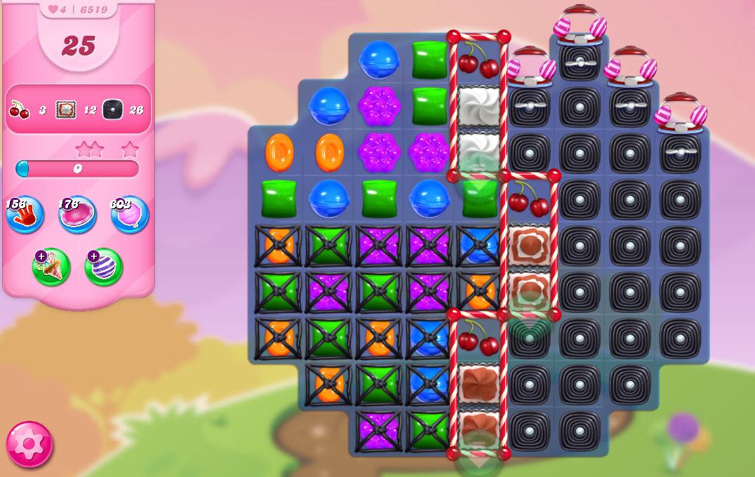 Candy Crush Saga level 6519