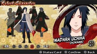 Download Texture Naruto Impact: Madara Uchiha Hokage for PSP Android Terbaru