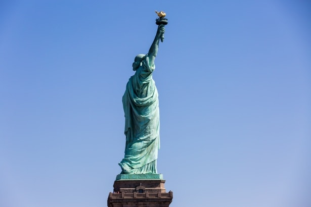 Description de la statue de la liberté