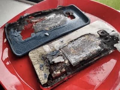 Samsung Galaxy S6 Edge+ bị cháy khi đang sạc