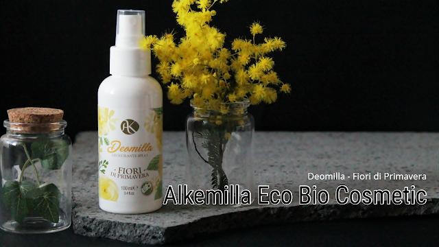 deodorante spray Deomilla  Fiori di primavera Alkemilla