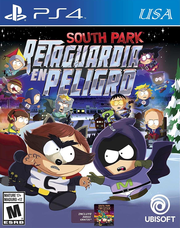 Mundo Drew: South Park Retaguardia en Peligro + DLCs [PS4][USA][4 55