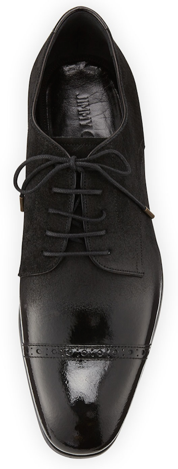Jimmy Choo Prescott Cap-Toe Shoe