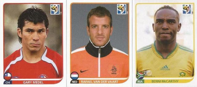 Panini 345 Rafael van der Vaart Niederlande FIFA WM 2010 Südafrika