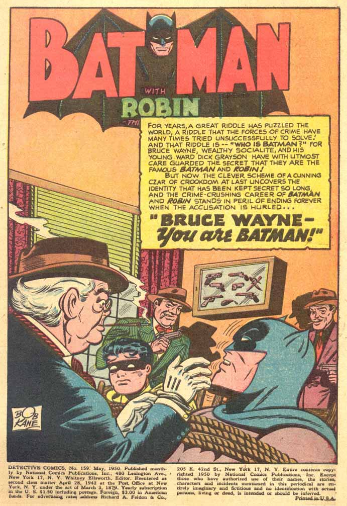 Detective Comics (1937) 159 Page 2
