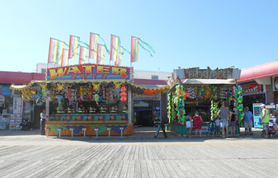 Arcade Games on the Wildwood Boardwalk in New Jersey