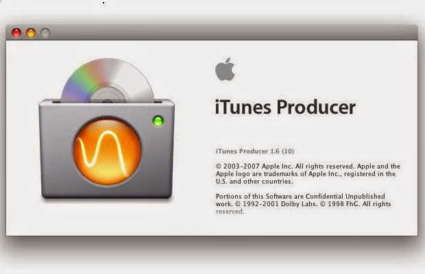 iTunes Producer image
