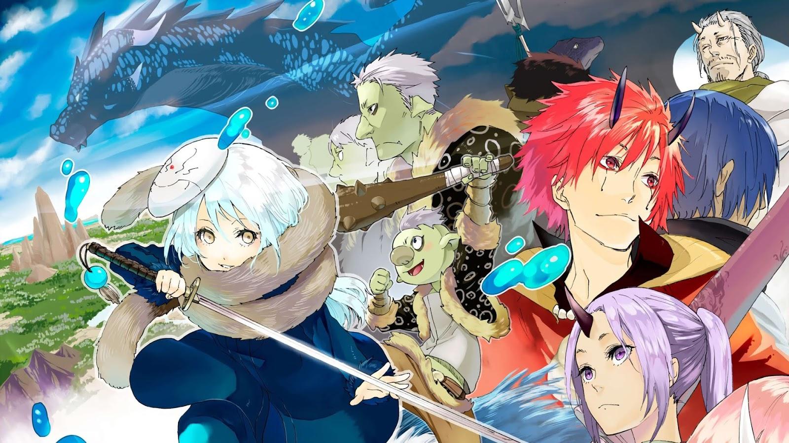 جميع حلقات انمى Tensei shitara Slime Datta Ken مترجم أونلاين كامل تحميل و مشاهدة حصريا