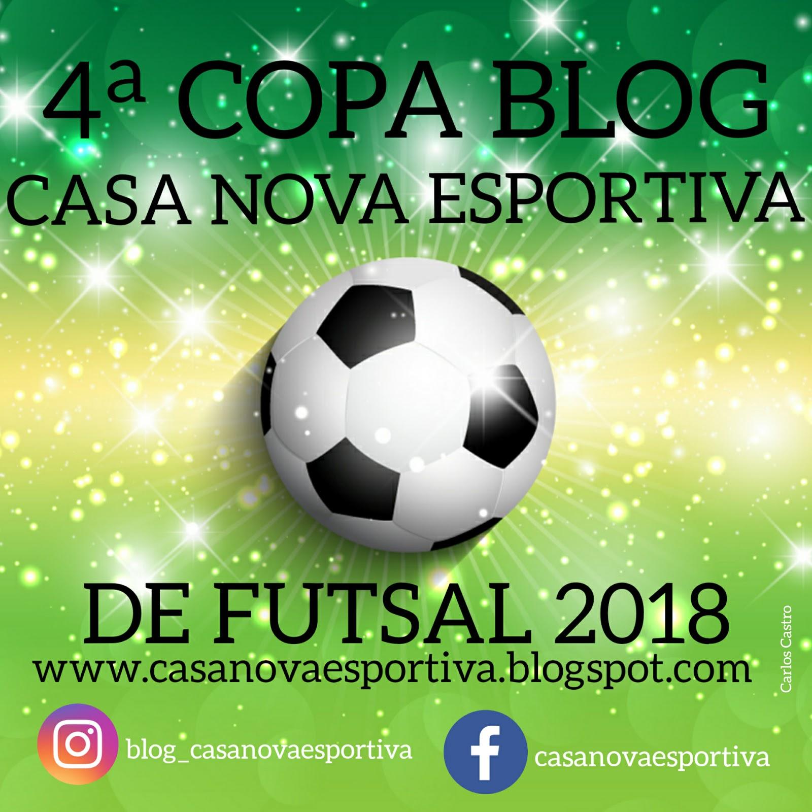 f08556eac Início da COPA BLOG CASA NOVA ESPORTIVA DE FUTSAL foi adiado para 25 de  agosto