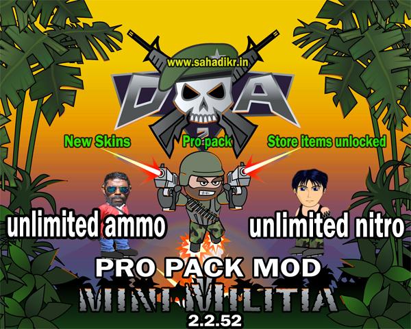 mini militia mod shd apk