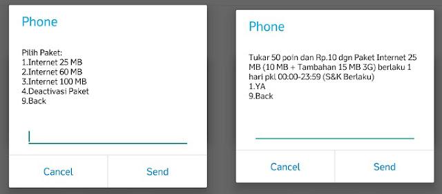 Cara Tukar Poin di My Telkomsel 2